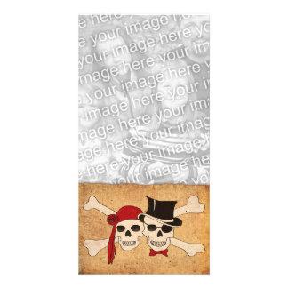 pirate love photo cards