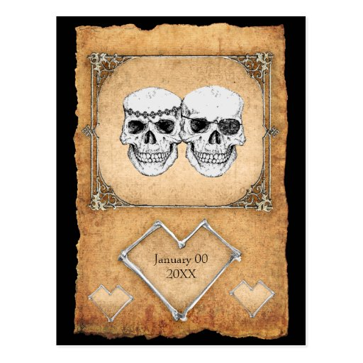 pirate love post cards