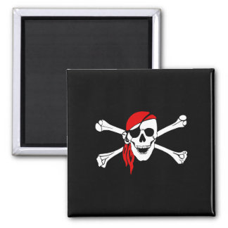 Pirate_Magnet2(S) Square Magnet