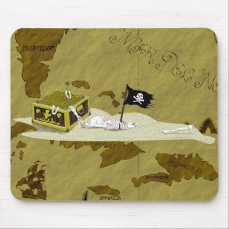 Pirate Map #1 Mouse Pad