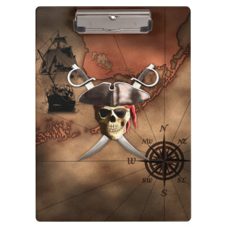 Pirate Map Clipboard