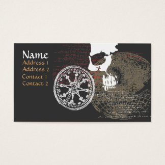 Pirate Map Profile / Business Card