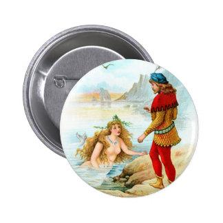 Pirate Meets a Mermaid Pins