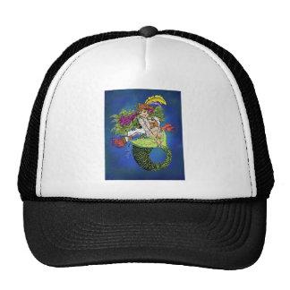 Pirate Mermaid Trucker Hat
