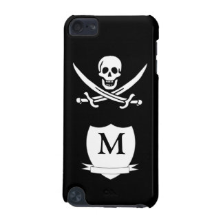 Pirate & monogram iPod touch (5th generation) covers