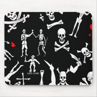 Pirate Montage #1 Mouse Pad