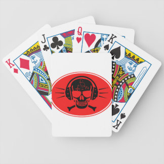 Pirate music bicycle playing cards
