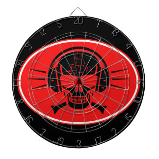Pirate music dartboard