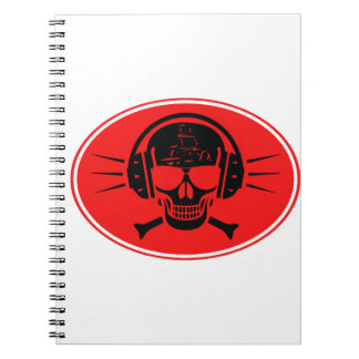 Pirate music notebook