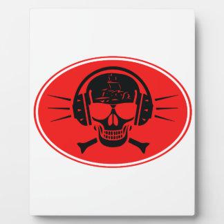 Pirate music plaque