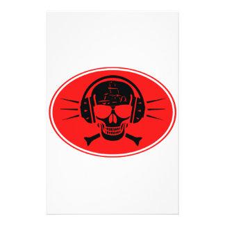 Pirate music stationery