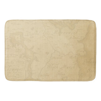 Pirate Mystery Ship Bathroom Mat