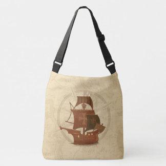 Pirate Mystery Ship Crossbody Bag