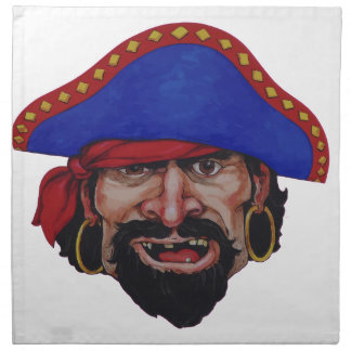 pirate napkin