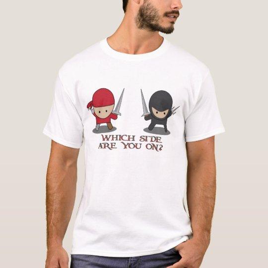 Pirate Or Ninja? T-Shirt
