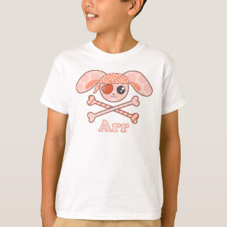Pirate Orange Bunny Arr T-Shirt