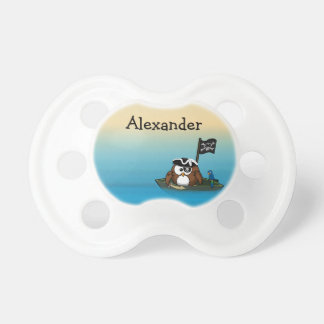 pirate owl - fashion accessories pacifiers