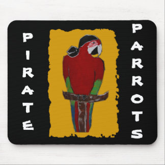 Pirate Parrot Mouse Pad