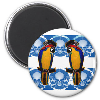 Pirate Parrots Magnet