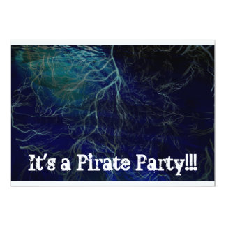 "Pirate Party 5"" X 7"" Invitation Card"