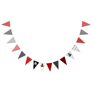 Pirate Party Bunting Flag