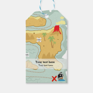 Pirate party gift tags
