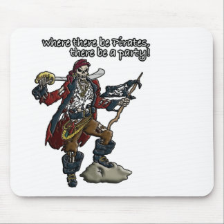 Pirate Party! Mouse Pad