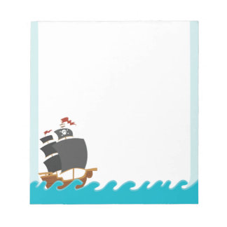Pirate Party Notepad