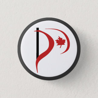 Pirate Party Of Canada 1 Inch Round Button