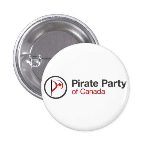 Pirate Party Of Canada Buttons