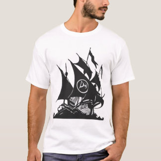 Pirate Party of Canada Ship T-Shirt