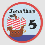 Pirate Party Stickers