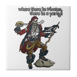 Pirate Party Tile