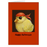 Pirate Peep Halloween card