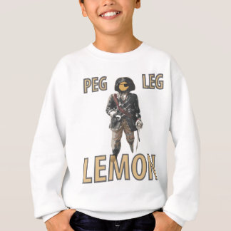 Pirate 'Peg Leg' Lemon Sweatshirt
