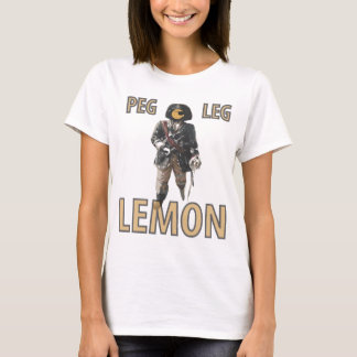 Pirate 'Peg Leg' Lemon T-Shirt