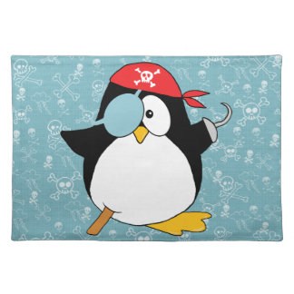 Pirate Penguin Graphic Placemat