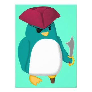Pirate Penguin Custom Announcement