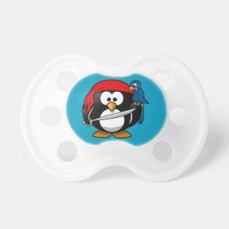 Pirate penguin parrot pacifier