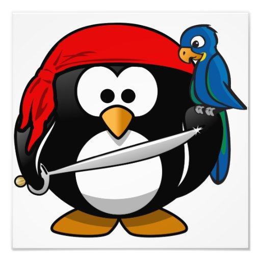 Pirate Penguin Art Photo