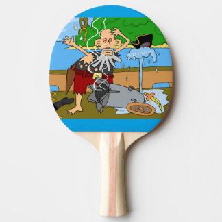Pirate ping pong bat ping pong paddle