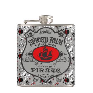 Pirate Pint Hip Flask