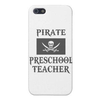Pirate Preschool Teacher Cover For iPhone 5