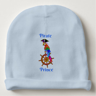 Pirate Prince - Parrot Baby Cotton Beanie Baby Beanie