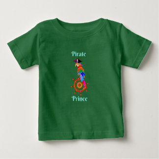 Pirate Prince - Parrot Baby Fine Jersey T-Shirt