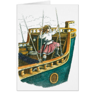 Pirate Princess Card