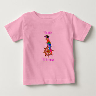Pirate Princess - Parrot Baby Fine Jersey T-Shirt