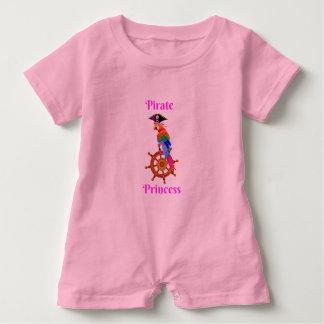 Pirate Princess - Parrot Baby Romper
