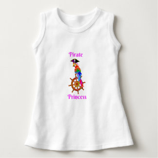 Pirate Princess - Parrot Baby Sleeveless Dress