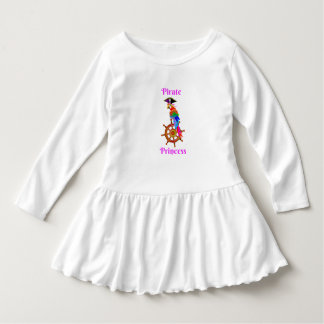 Pirate Princess - Parrot Toddler Ruffle Dress